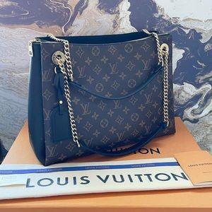 Louis Vuitton Surene MM Monogram Leather Tote Bag